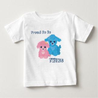 Camiseta linda del niño del perrito