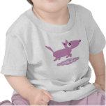 Camiseta linda del niño del perro