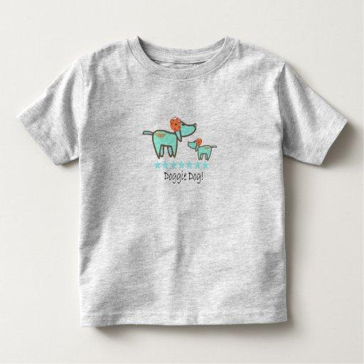 Camiseta linda del niño del perro del perrito playeras
