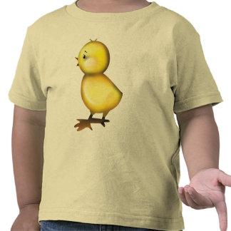 Camiseta linda del niño del polluelo de Pascua
