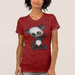Camiseta linda del oso de panda de Kawaii