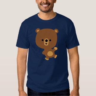 """Camiseta linda del oso del """"buen ambiente"""" del playeras"""