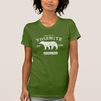 Camiseta linda del oso del parque nacional de polera