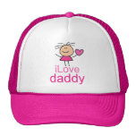 Camiseta linda del papá del amor de I Gorros Bordados