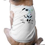 Camiseta linda del perro del chucho camisetas de mascota