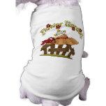 Camiseta linda del perro del jardín de la primaver camisetas mascota
