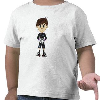 Camiseta linda del portero del fútbol de