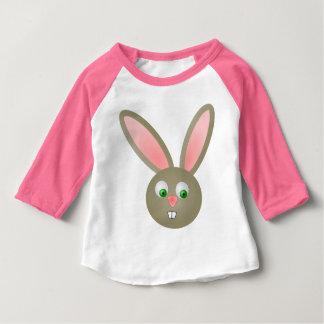 Camiseta LINDA del raglán de la manga del bebé 3/4 Playera