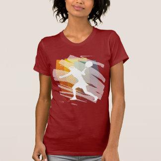 Camiseta linda del tenis para las mujeres