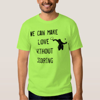 Camiseta linda del tenis poleras