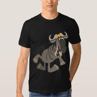 Camiseta linda del Wildebeest del baile de Remera