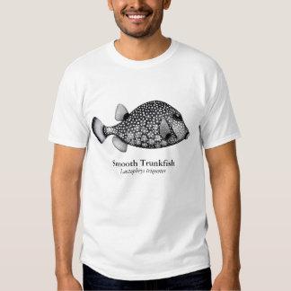 Camiseta lisa del Trunkfish del arrecife de coral Remeras