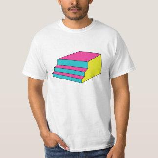 camiseta llamativa de la escalera poleras