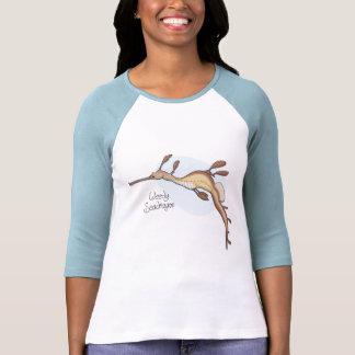 Camiseta llena de yerbajos de las señoras de Seadr