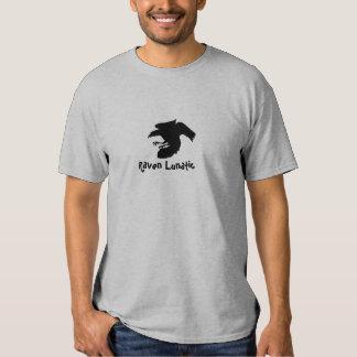 Camiseta loca del cuervo camisas