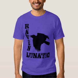 Camiseta loca del cuervo playera