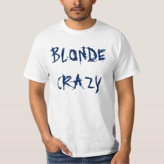 Camiseta loca rubia