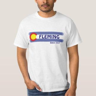 Camiseta local del valor de la bandera de Fleming Camisas