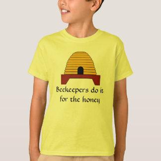 Camiseta - los apicultores la hacen para la miel
