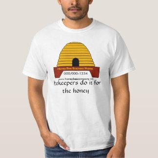Camiseta - los apicultores la hacen para la miel polera