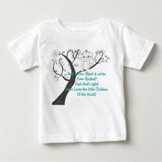 Camiseta - los pequeños niños polera