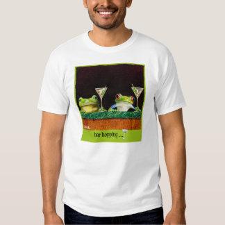"""Camiseta """"lupulización de las ampollas de la barra polera"""