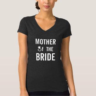 Camiseta - madre de la novia (Bling) Playeras