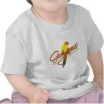 Camiseta magnífica del bebé de Sun Conure