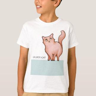 Camiseta malhumorada de los niños de los corazones