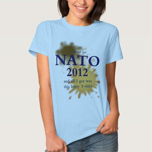 Camiseta malísima de la OTAN Playera