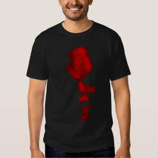 Camiseta malvada de la mueca - espectro sangriento remeras