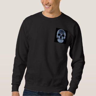 Camiseta malvada de la radiografía del cráneo - jersey