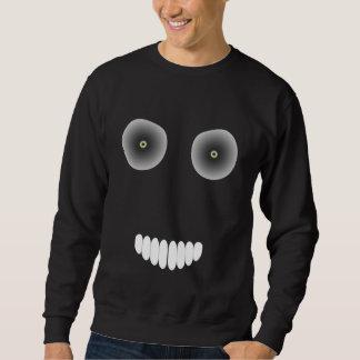 Camiseta malvada de la sonrisa sudadera con capucha