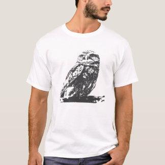 Camiseta manchada del búho