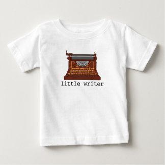 Camiseta máquina de escribir bebé. remeras
