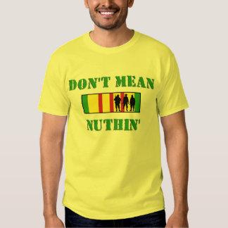Camiseta marina del veterano de Vietnam del ronco Remeras