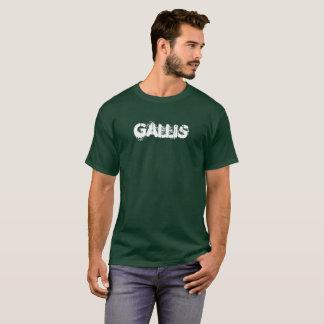 Camiseta masculina inspirada jamaicana de GALLIS