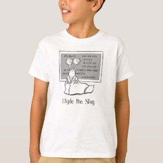 Camiseta matemática de la barra