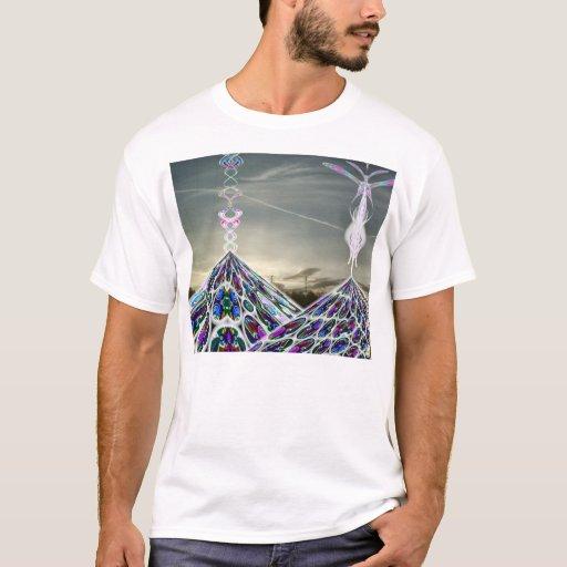 Camiseta maya de la pirámide 2012