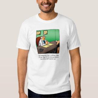 Camiseta médica del humor playera