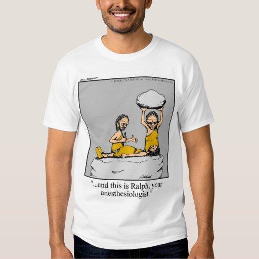 Camiseta médica divertida del Anesthesiologist Playera