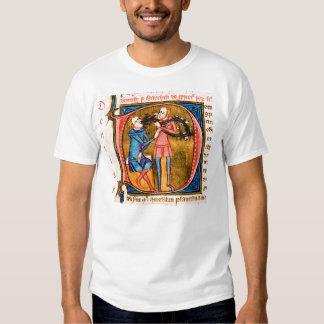 Camiseta medieval de la odontología playera
