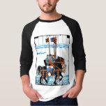 Camiseta medieval de los caballeros playera