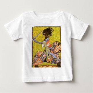 Camiseta medieval del bebé del caballero