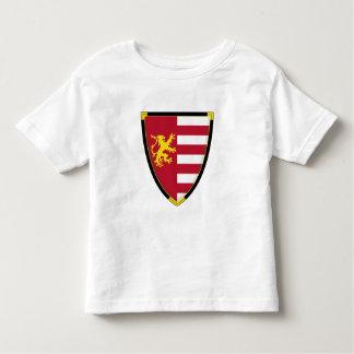Camiseta medieval del escudo del león poleras