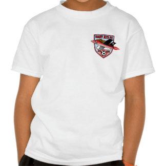Camiseta melenuda del escudo de los jets