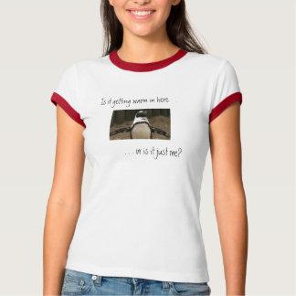 Camiseta menopáusica del pingüino remeras