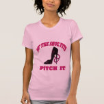Camiseta menuda de las herraduras de las señoras