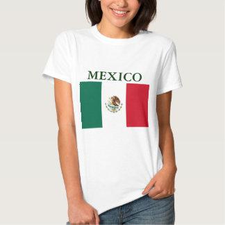 Camiseta menuda de las señoras de la bandera de playera