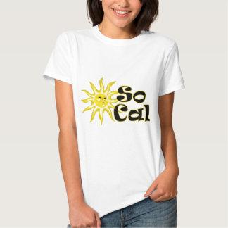 Camiseta menuda de las señoras de la sol de SoCal Playeras
